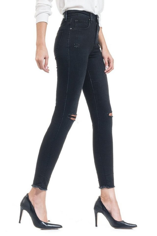 salsa jeans Jean »High waist/ Carrie« in Black