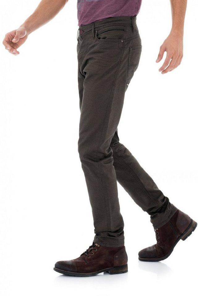 salsa jeans Jean »Slim Carrot/ Slender« in Green