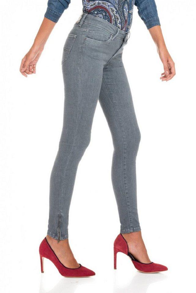 salsa jeans Jean »Comfort/ Slim Colette« in Grey
