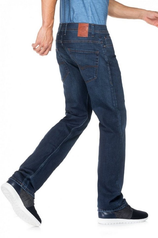 salsa jeans Jean »Regular/ Navarro« in Blue