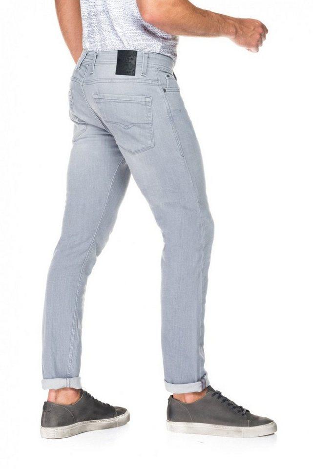 salsa jeans Jean »Slim Carrot/ Slender« in Grey