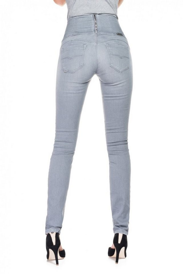 salsa jeans Jean »Diva« in Grey