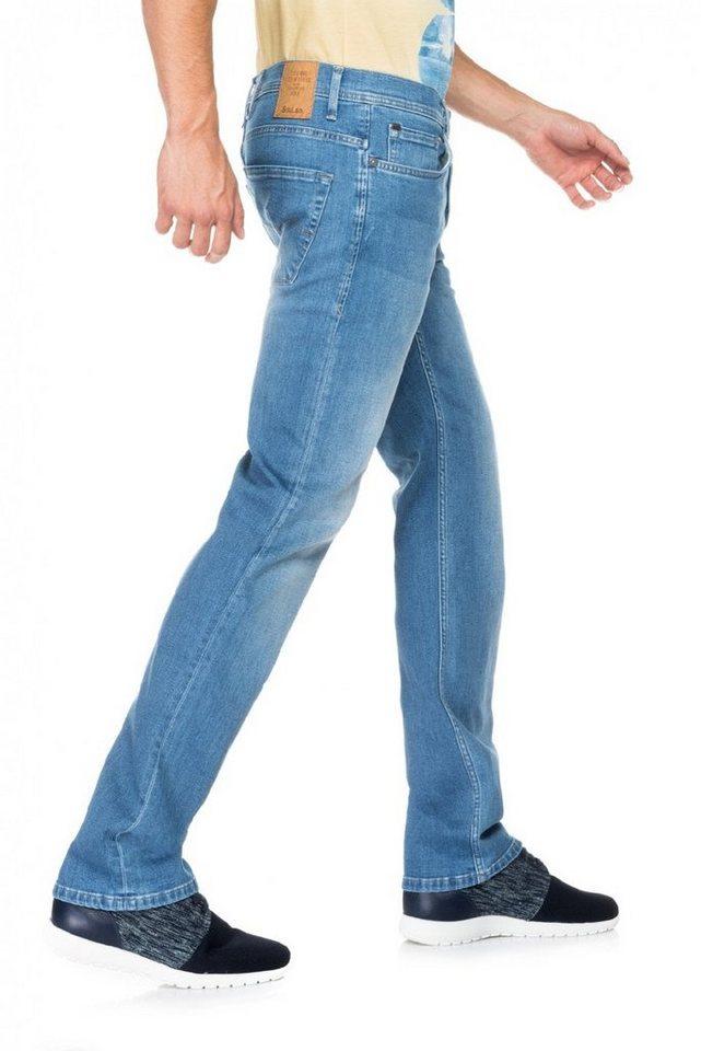 salsa jeans Jean »Regular/ Navarro« in Blue