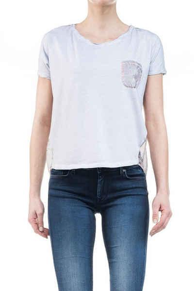 salsa jeans T-Shirt, kurzarm »ARRÁBIDA« Sale Angebote Schwarzheide