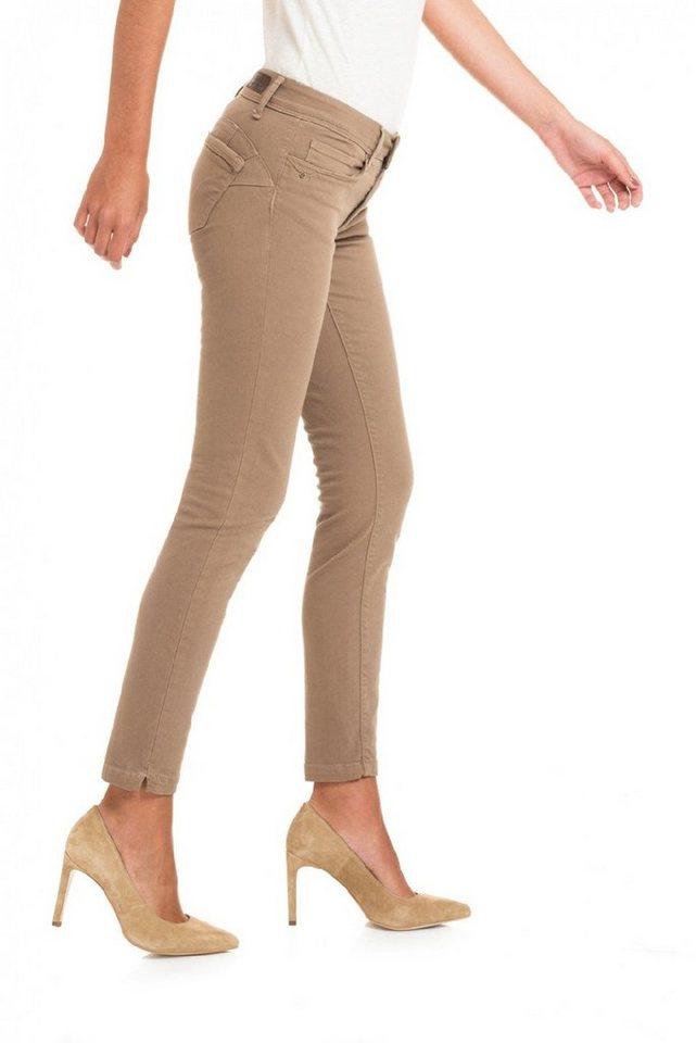 salsa jeans Jean »Push Up/ Wonder« in Brown