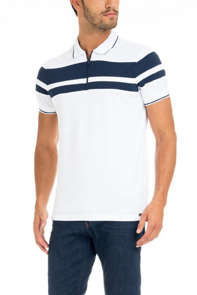 salsa jeans Kursarm Polo Shirt in White