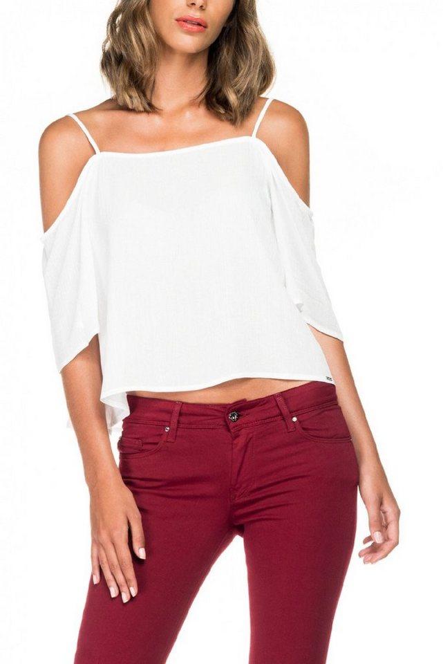 salsa jeans Top »MALDIVES« in White
