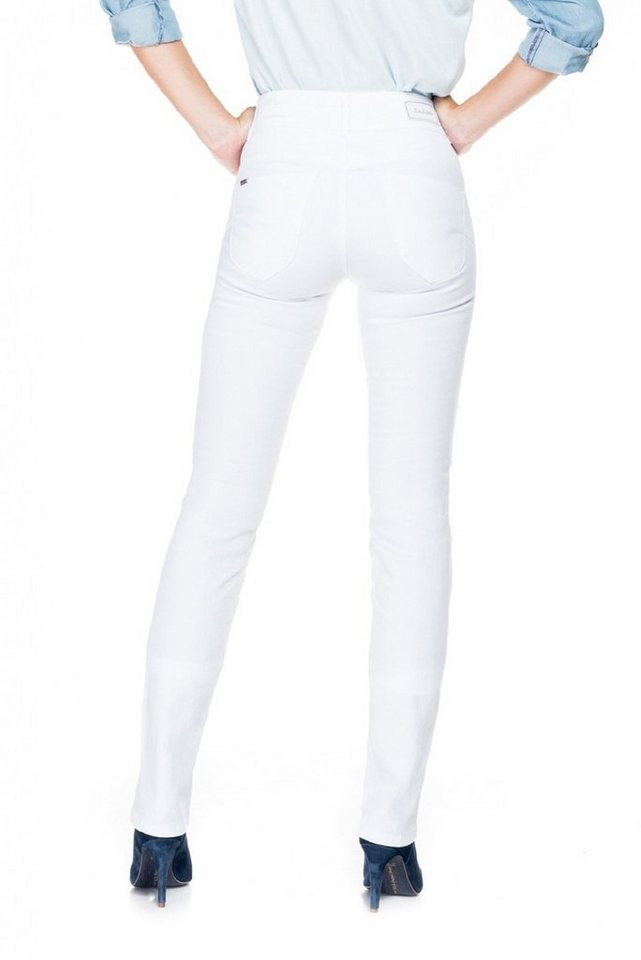 salsa jeans Jean »Push In/ Secret« in White