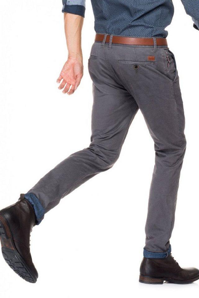 salsa jeans Hose lang »Slim Carrot/ Slender« in Grey