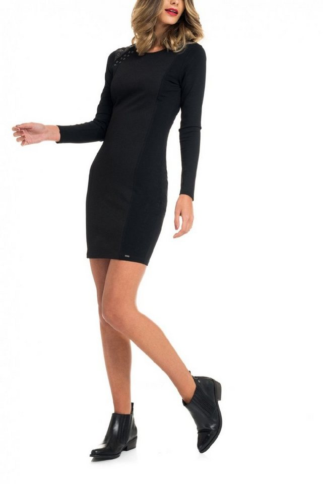 salsa jeans Kleid in Black