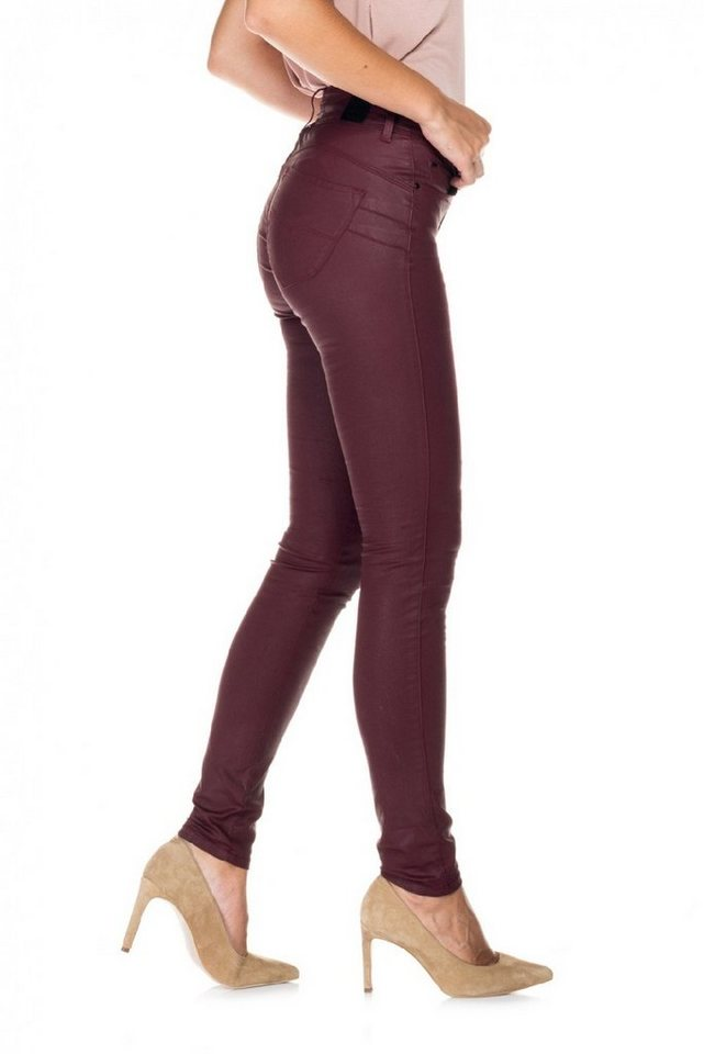 salsa jeans Jean »Push In/ Secret« in Red