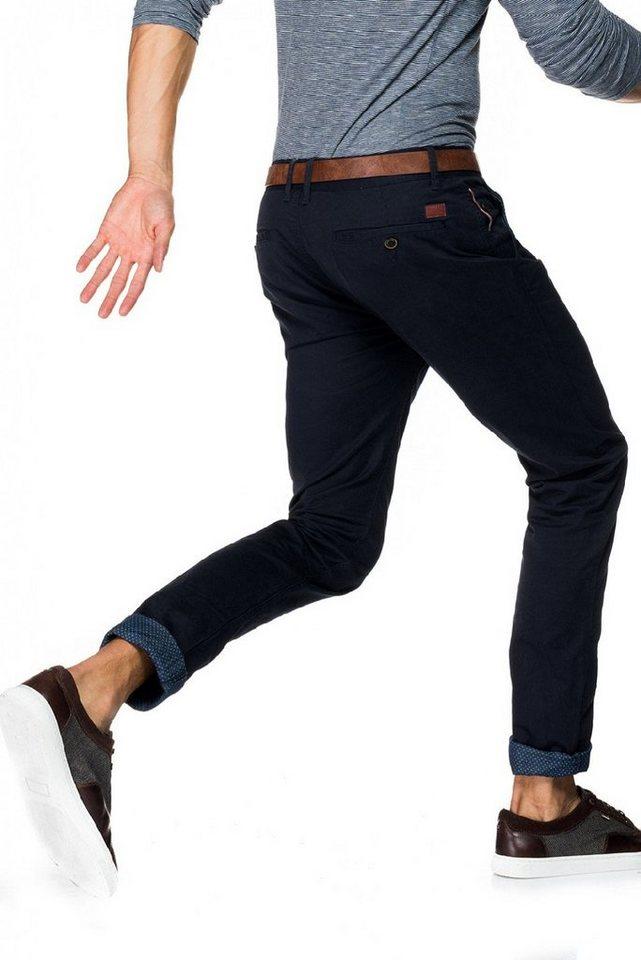 salsa jeans Hose lang »Slim Carrot/ Slender« in Blue