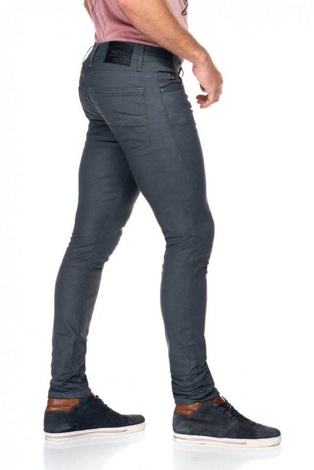 salsa jeans Jean »Clash« in Grey