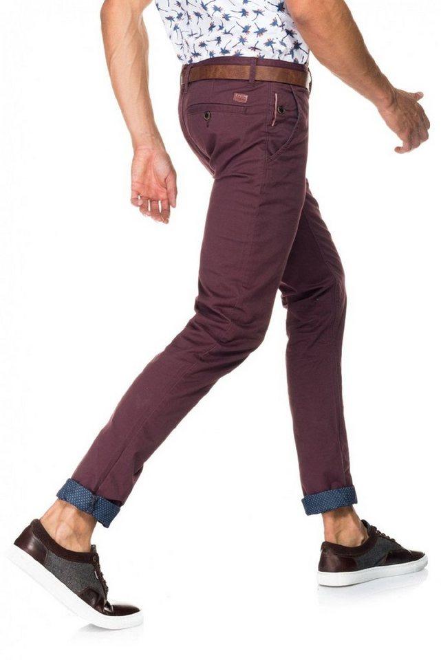 salsa jeans Hose lang »Slim Carrot/ Slender« in Pink