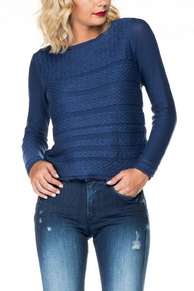 salsa jeans Pullover in Blue