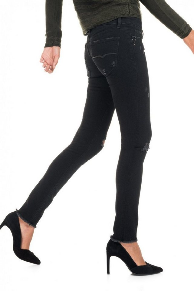 salsa jeans Jean »Slim very Low/ Classy« in Black
