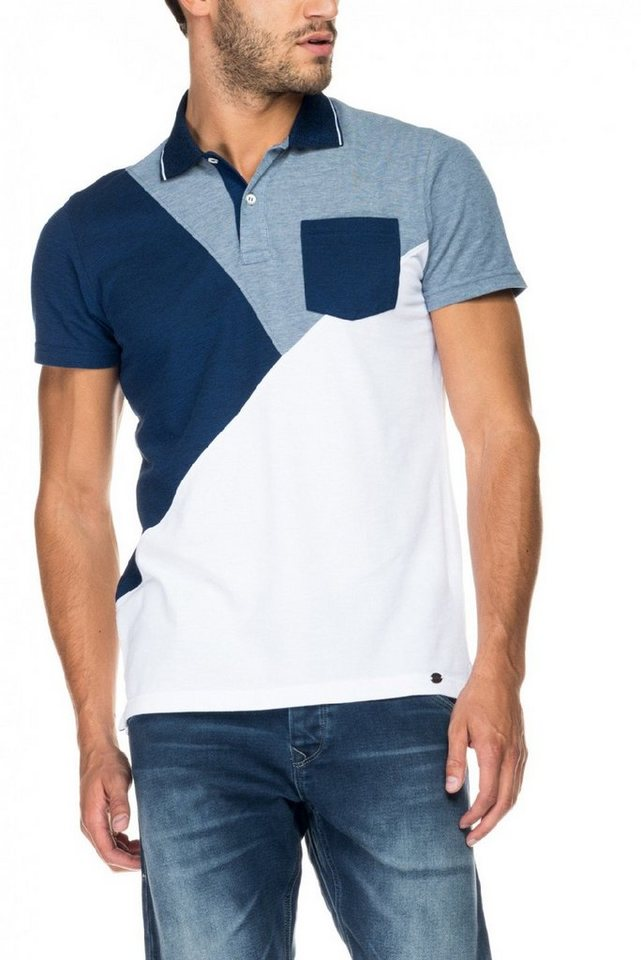 salsa jeans Kursarm Polo Shirt in Grey
