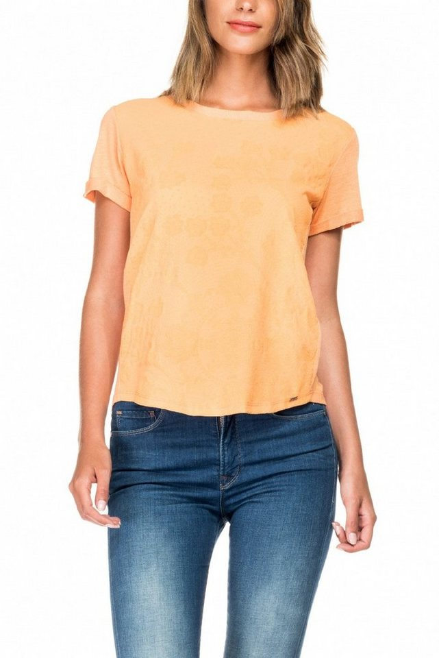 salsa jeans T-Shirt, kurzarm in Nature