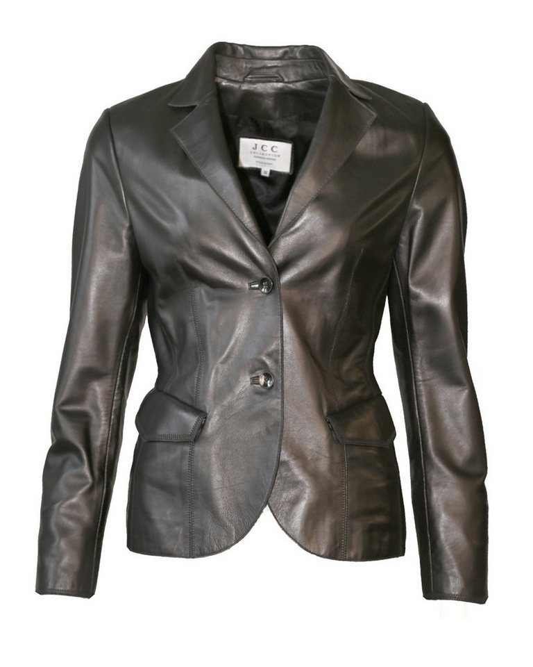 JCC Lederblazer, Damen Parzi in black