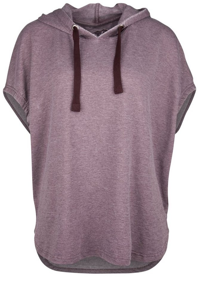 DAILY'S NOTHING'S BETTER Sweatponcho »HEAVEN« in grape