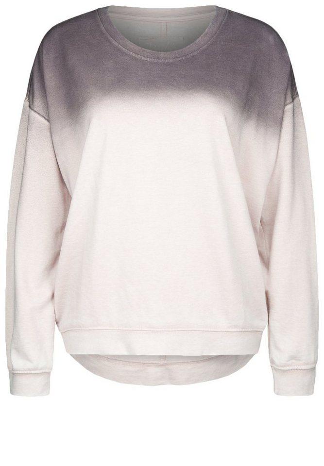DAILY'S NOTHING'S BETTER Sweatshirt »HEMLATA« in blush/grape