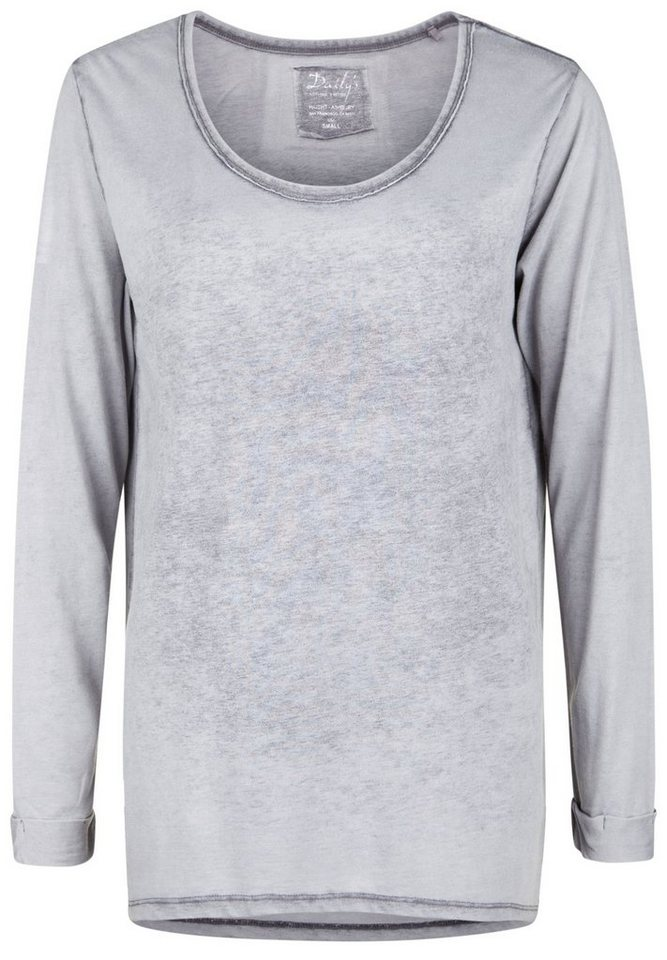 DAILY'S NOTHING'S BETTER Longsleeve »HILDRUN« in loft
