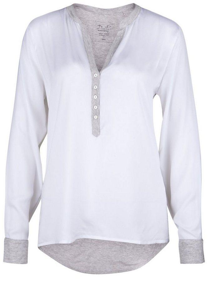 DAILY'S NOTHING'S BETTER Tunikashirt »GIADA« in bright white