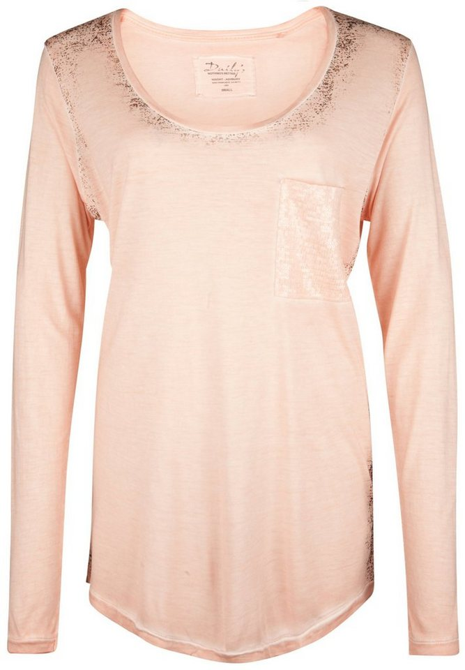 DAILY'S NOTHING'S BETTER Longsleeve »GENEVIEVE« in salmon