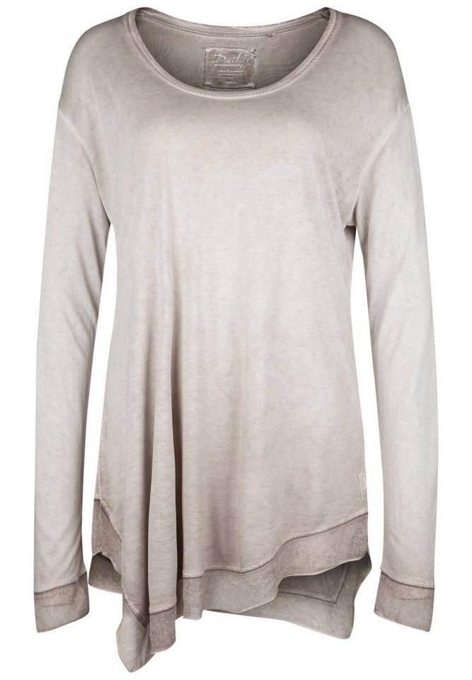 DAILY'S NOTHING'S BETTER Longsleeve »HAYLEY« in taupe