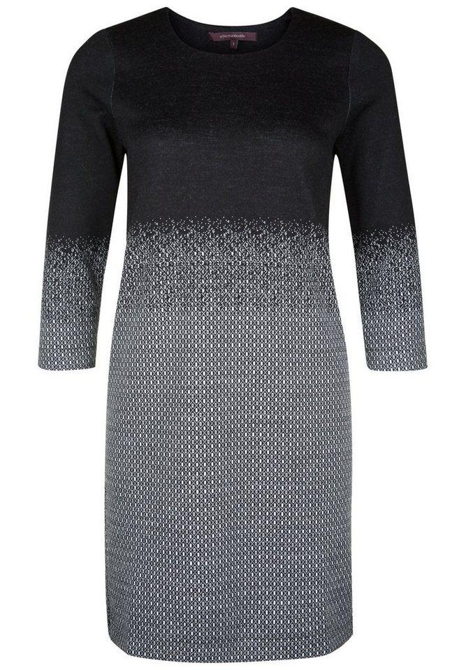 LA FÉE MARABOUTÉE Kleid »MIT FARBVERLAUF« in black & white