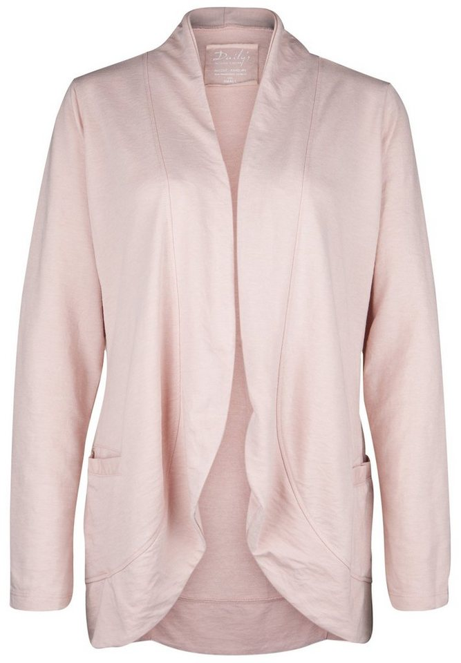 DAILY'S NOTHING'S BETTER Sweatcardigan »HEIDEROSE« in blush