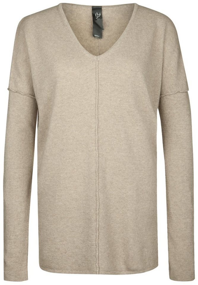 DAILY'S NOTHING'S BETTER Strickpullover »HOLLY« in taupe