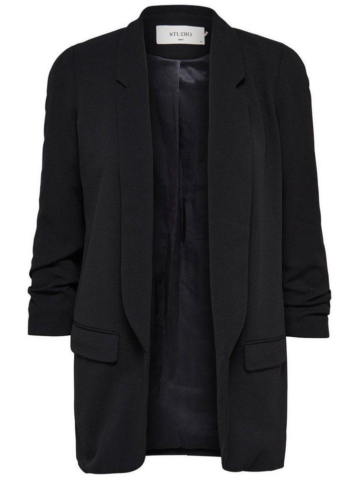 Only Lässiger Blazer in Black