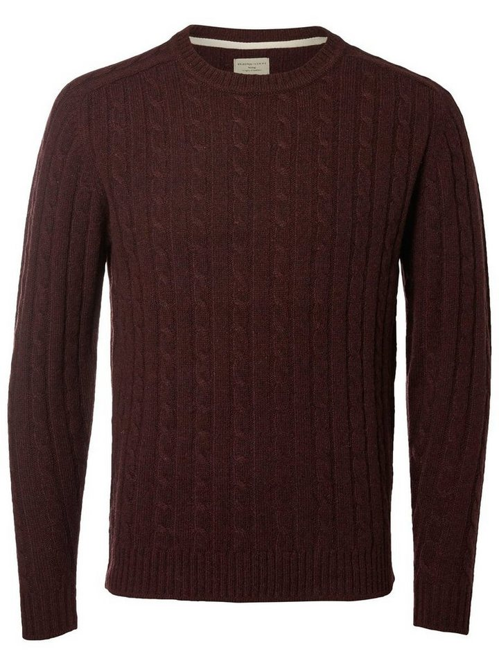 Selected Crew-Neck- Strickpullover in Port Royale