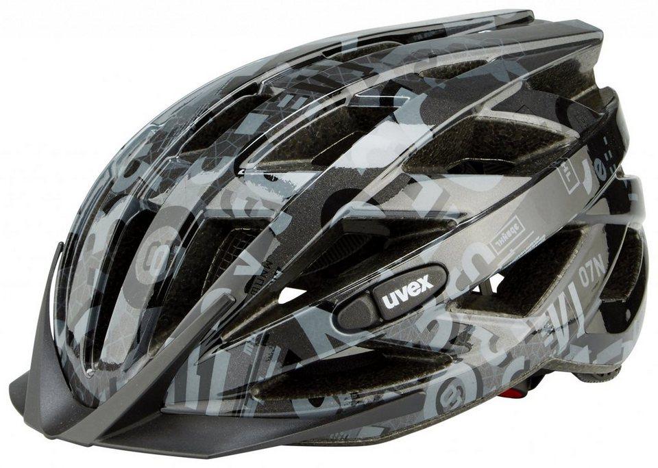 UVEX Fahrradhelm »air wing Helm« in schwarz