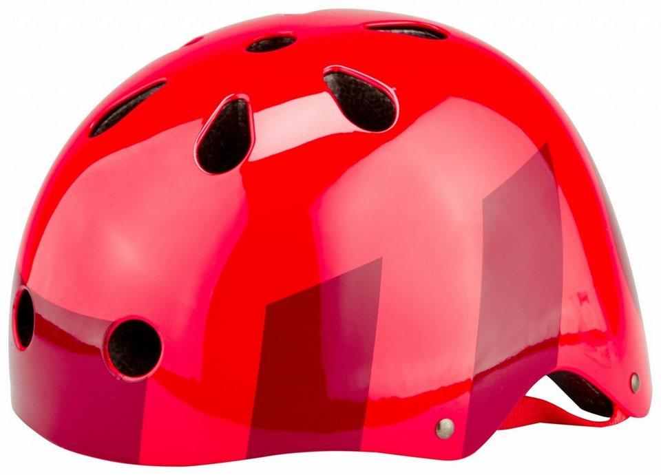 SixSixOne Fahrradhelm »Dirt Lid Helmet« in rot