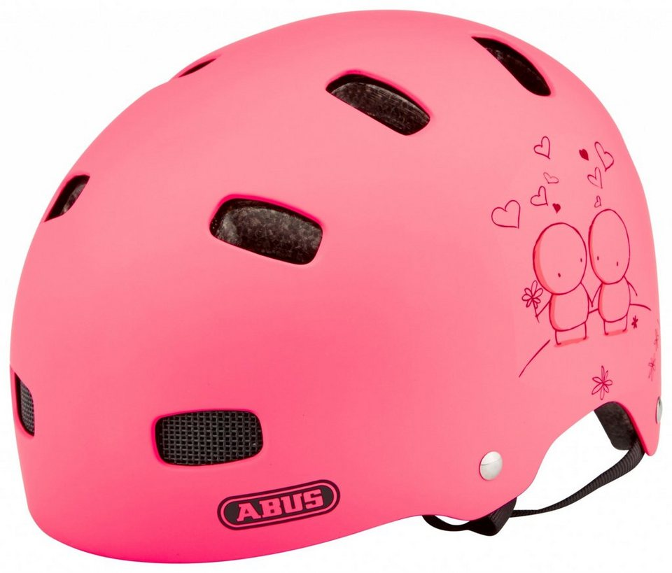 ABUS Fahrradhelm »Scraper Kid v.2 Helm« in rot