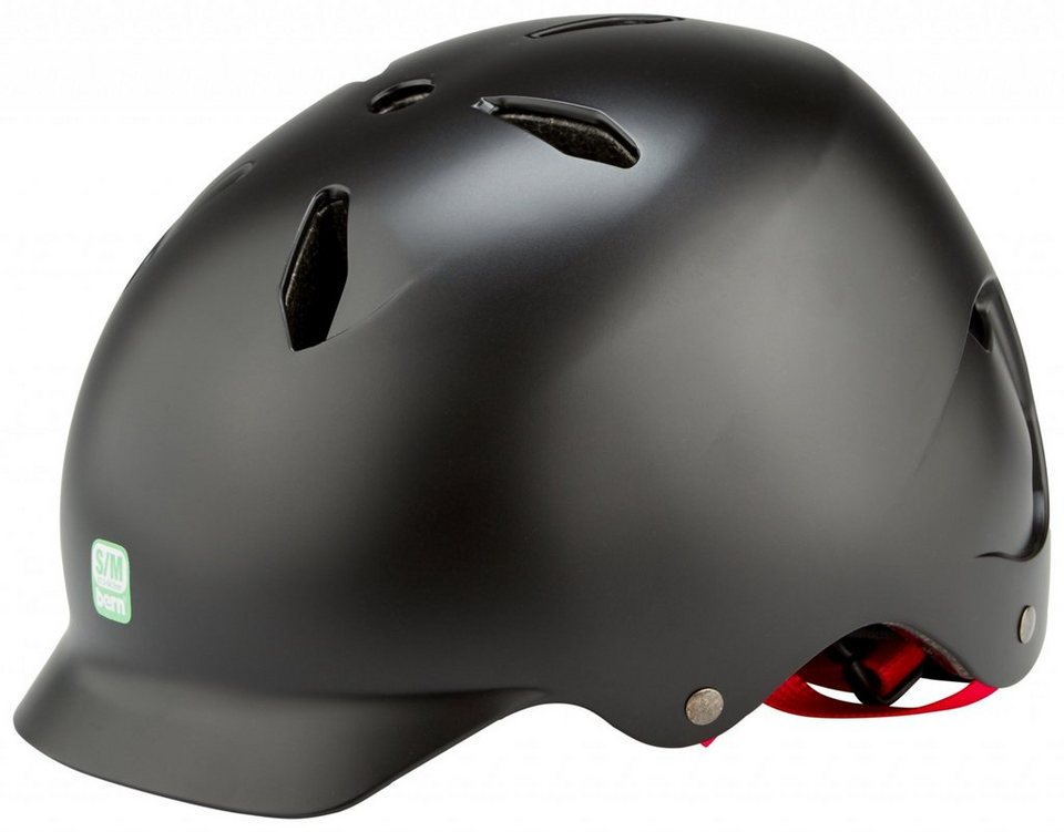 Bern Fahrradhelm »Bandito EPS Kinderhelm Thin Shell« in schwarz