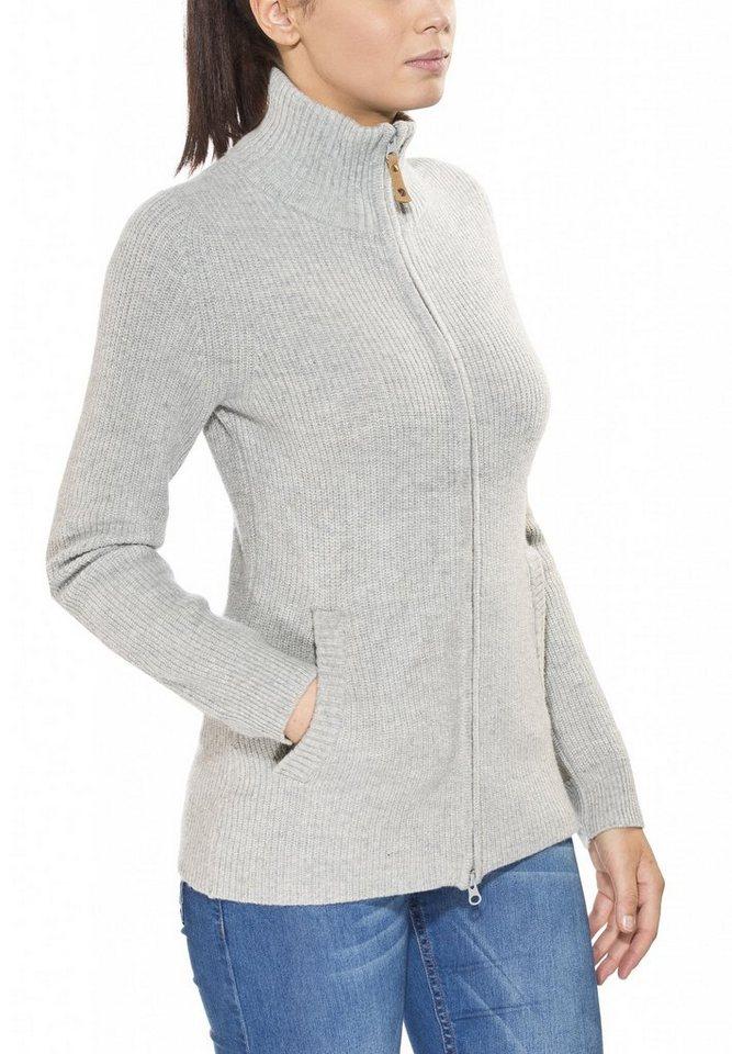 FJÄLLRÄVEN Pullover »Övik Zip Cardigan Women« in grau