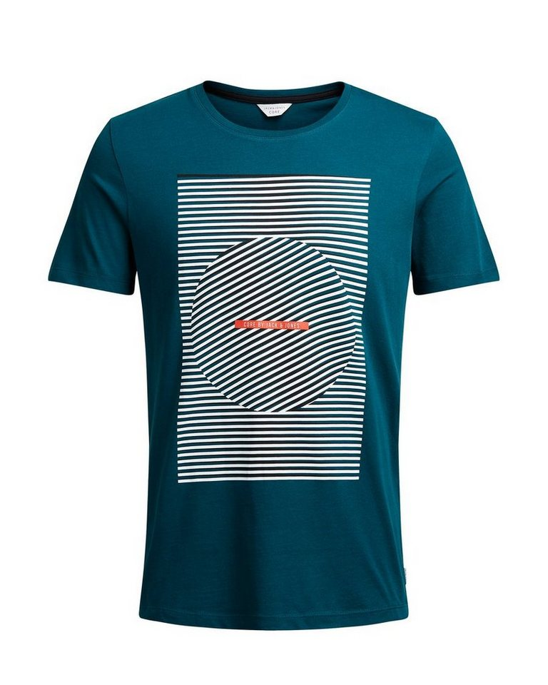 Jack & Jones Grafik- T-Shirt in Reflecting Pond