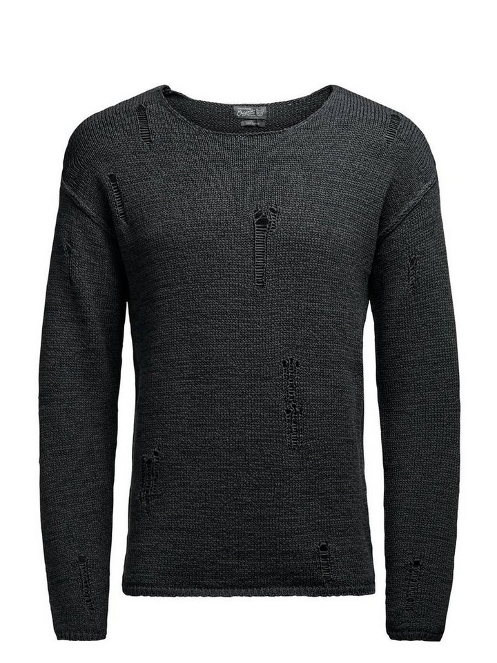 Jack & Jones Markanter Pullover in Asphalt
