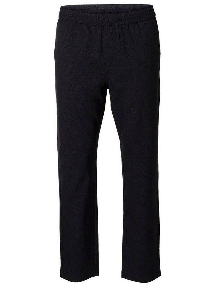 Selected Regular fit- Hose in Navy Blazer