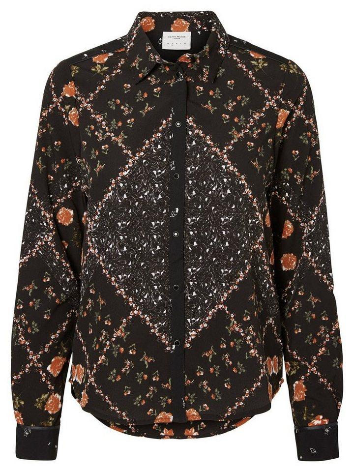 Vero Moda Feminine Hemd in Black 1