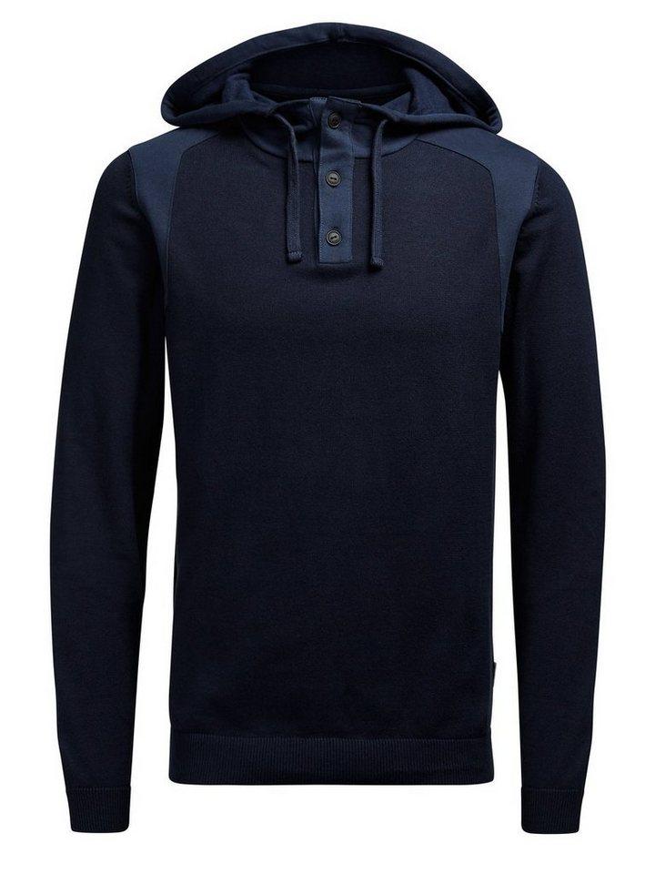 Jack & Jones Kapuzen- Pullover in Navy Blazer