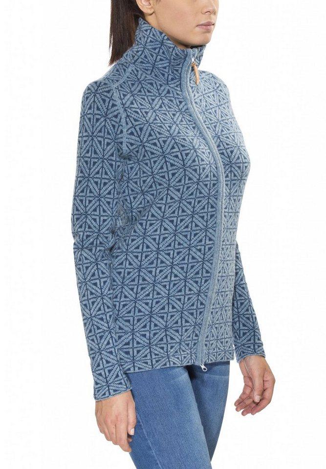 Fjällräven Pullover »Övik Frost Cardigan Women« in blau
