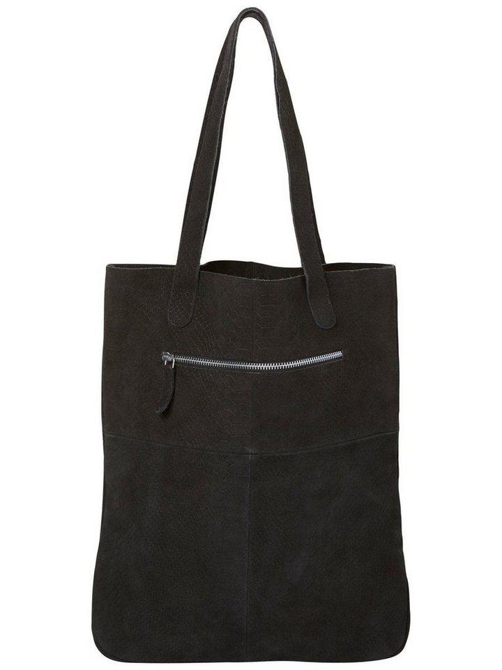 Vero Moda Wildleder- Netz in Black