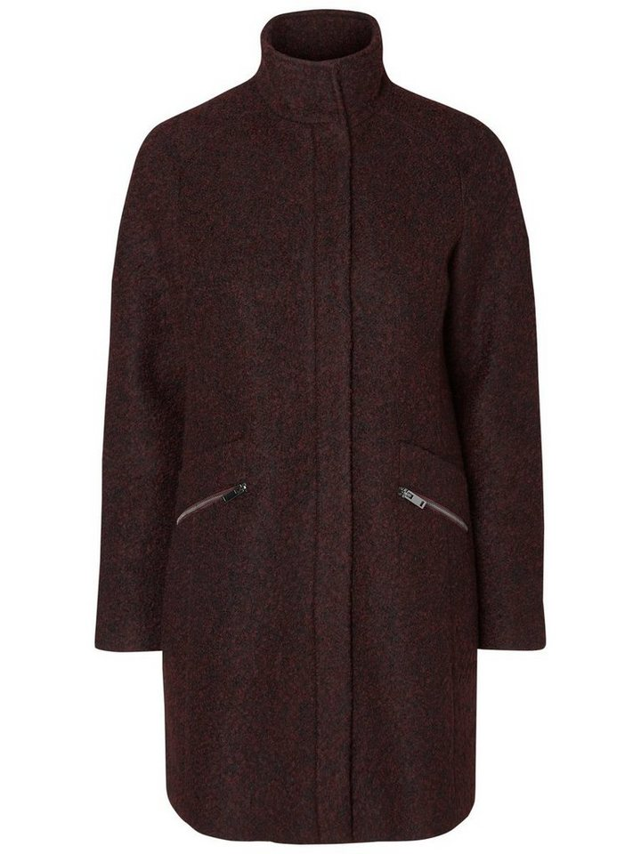 Vero Moda Woll- Jacke in Decadent Chocolate