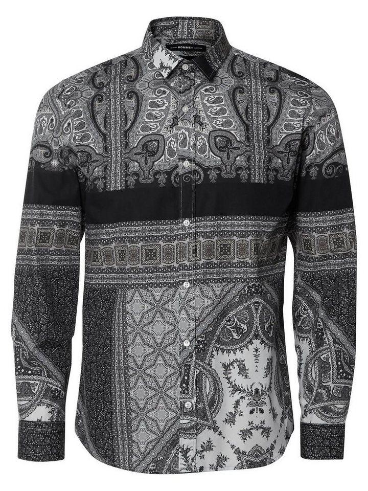 Selected Slim fit- Langarmhemd in Grey