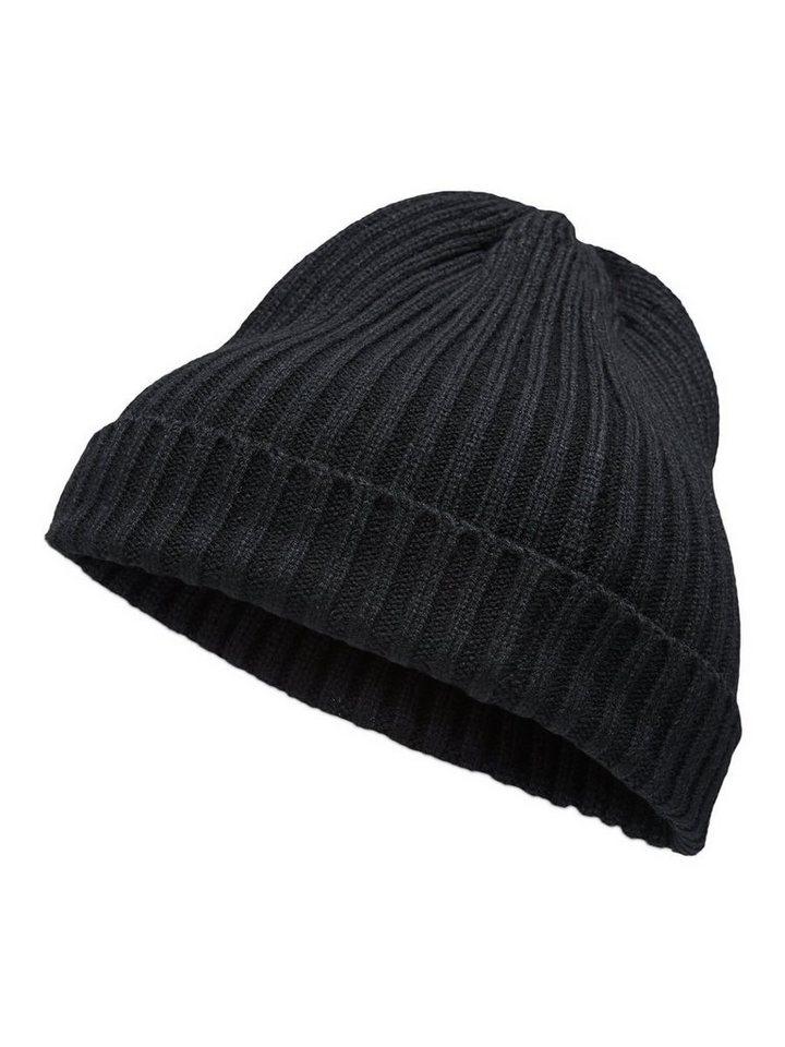 Jack & Jones Klassische Mütze in Black