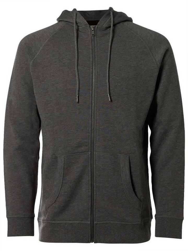Selected Kapuzen- Sweatshirt in Medium Grey Melange